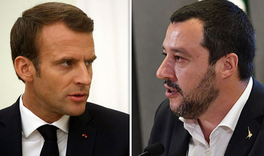 «Действия Италии вызывают у меня рвоту». Макрон пошел на открытый конфликт с Римом